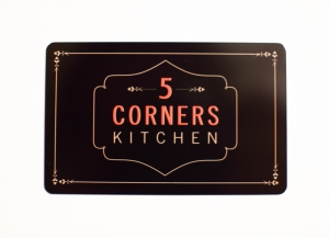 5 Corners Kitchen Gift Card