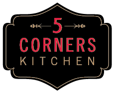 5 Corners Kitchen Restaurant Logo